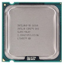 Процессор двухъядерный LGA775 Core 2 Duo E6550 (б/у)